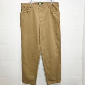 CABELA'S Men's 42 X 34 Medium Weight Tan Jeans